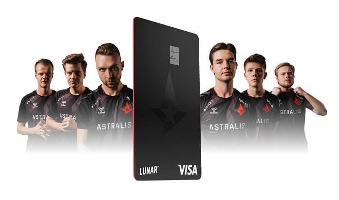 Astralis betalingskort og bank – mere end 6.100 på venteliste - Nyheder fra servicebranchen - ServiceNews